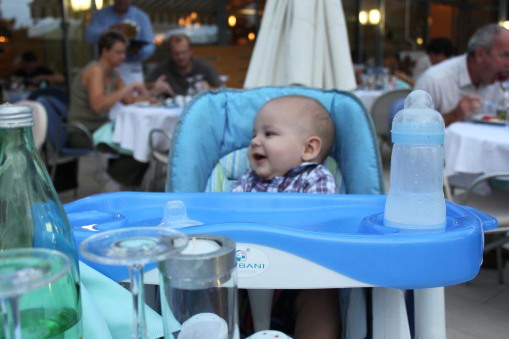Abendessen mit Baby Porec